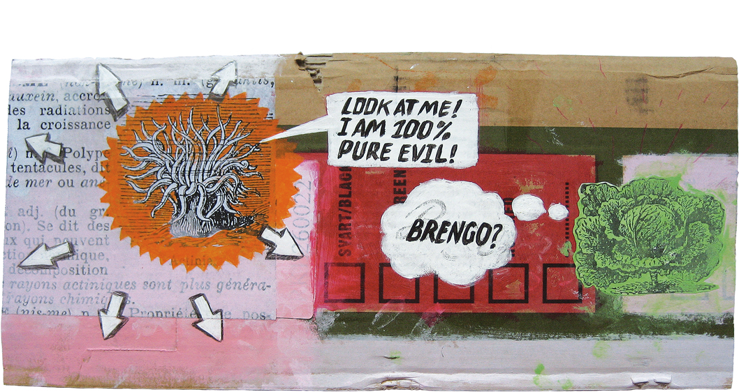 THOMAS ATZENBECK CARDBOARDS ART KUNST MIXED MEDIA ASSEMBLAGE COLLAGE STREETART FREE ART OUTSIDER ART